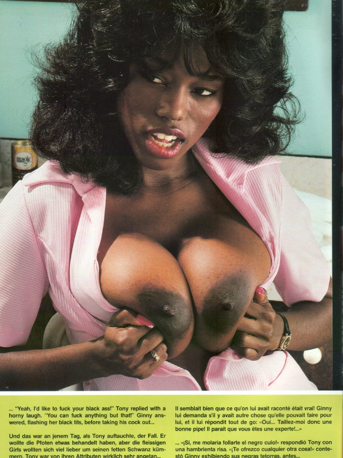 EBONY BIG BOOBS porn