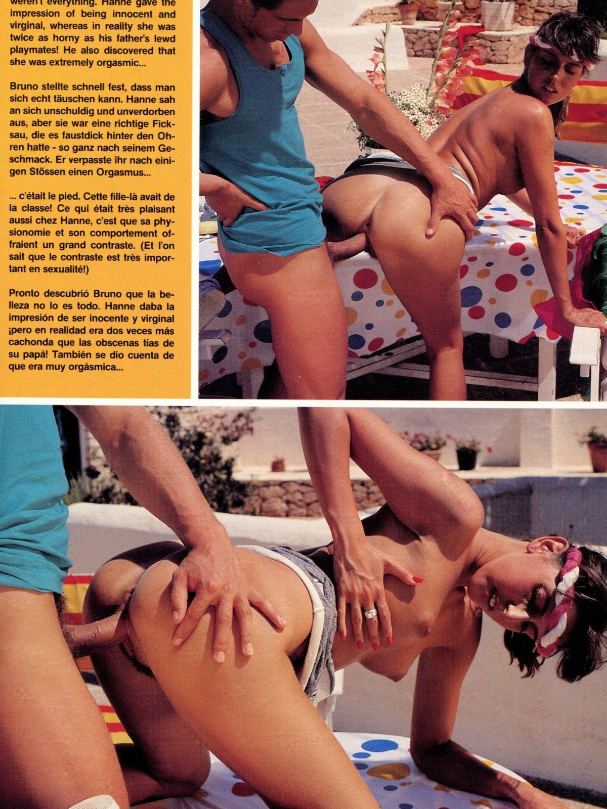 outdoor retro threesome